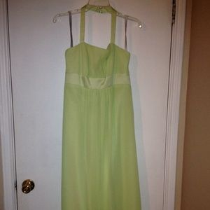 Alfred Angelo Dress in Pistachio - Size 10